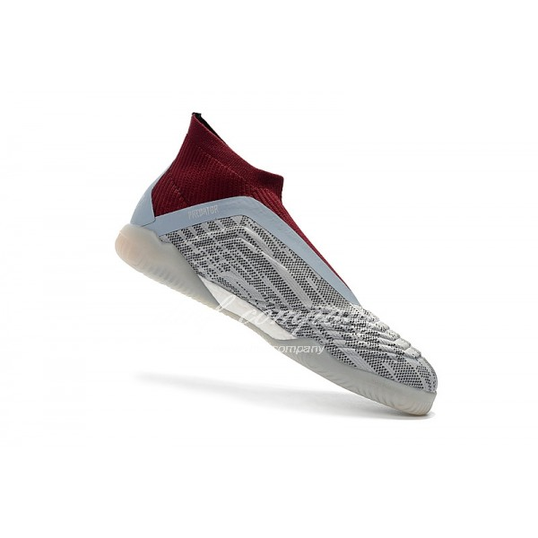 adidas PP Predator Tango 18+ IN Men White/Wine Red