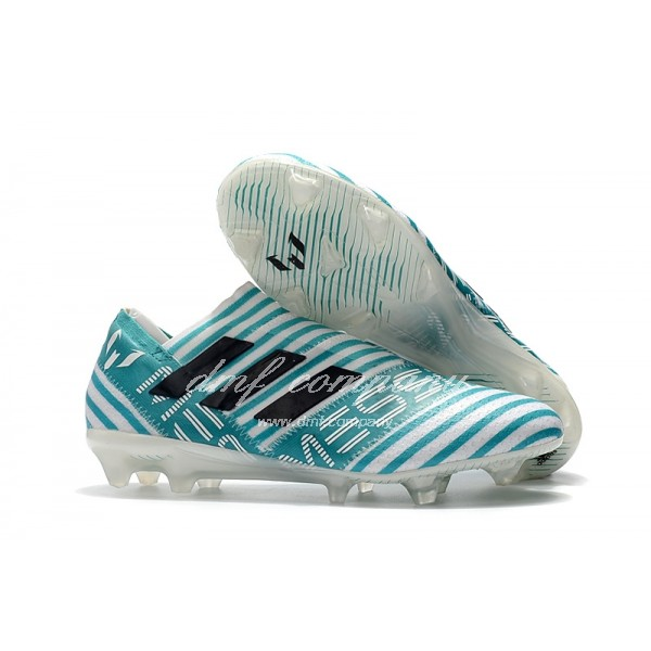 TPU adidas Nemeziz 17+ 360 Agility FG Men Light Blue