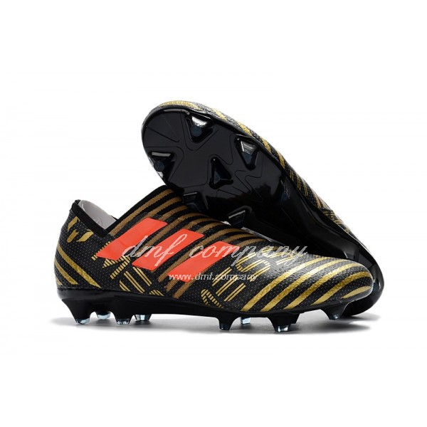 TPU adidas Nemeziz 17+ 360 Agility FG Men Black/Red