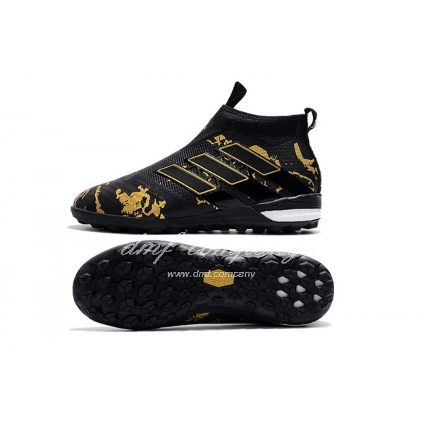 adidas ACE Tango 17+ Purecontrol TF Women/Men Black/Gold