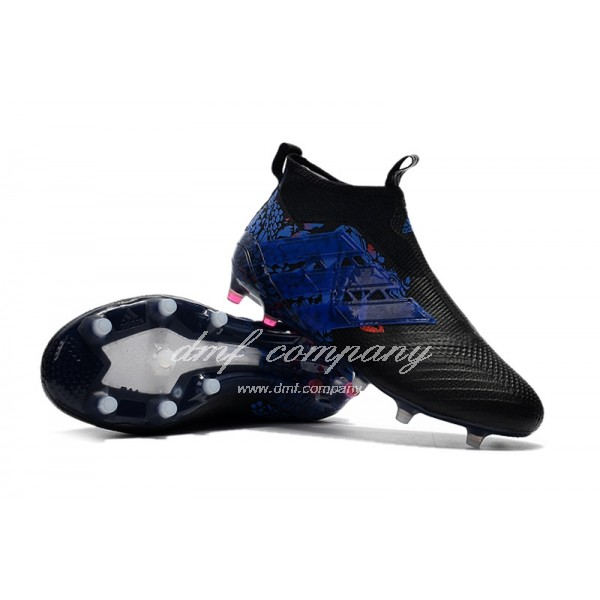 Adidas ACE 17+ Purecontrol FG Dragon Men Black/Blue