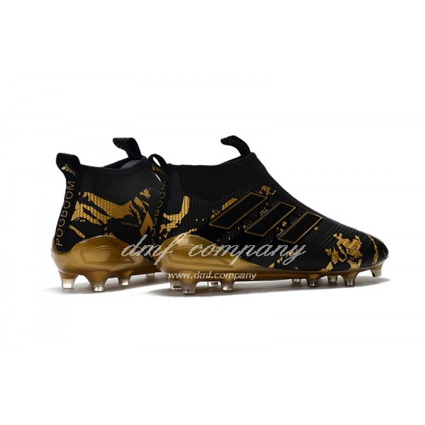Adidas ACE 17+ PureControl FG Men Black/Gold