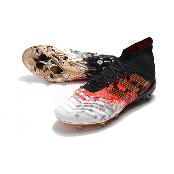 adidas Predator 18.1 Men FG Black/Orange/White