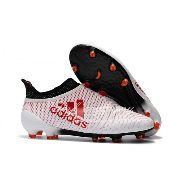 X adidas 17+ Purechaos FG Men White/Red