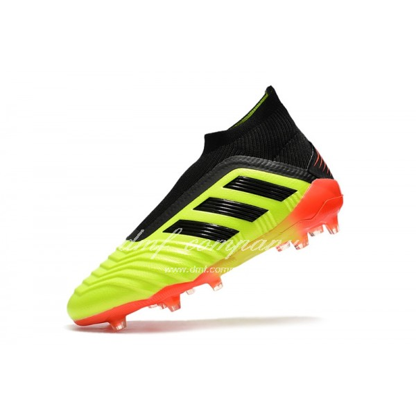 adidas Predator 18+ FG Men Fluorescent Yellow/Black/Orange