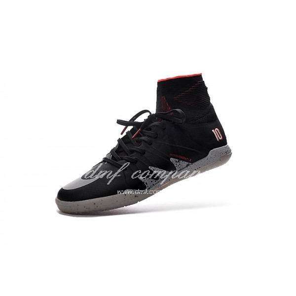 Hypervenom Phantom II Men Black/White IC