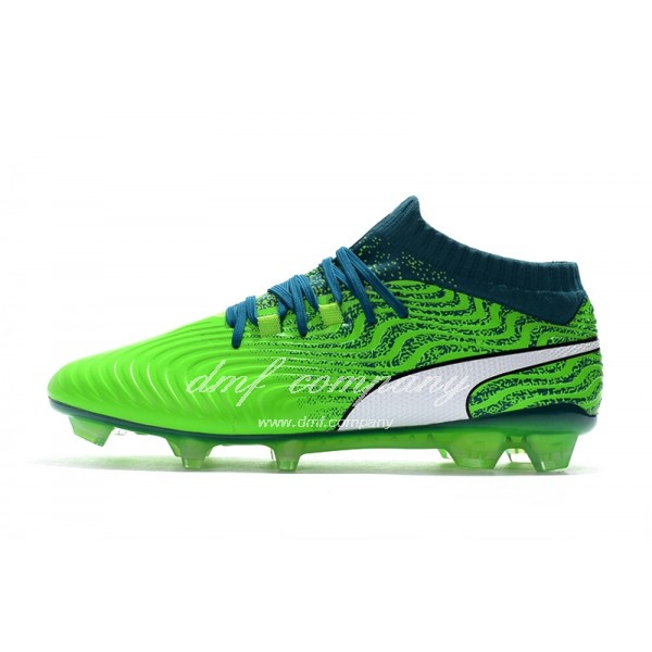 Puma Men's One 18.1 Syn FG Green