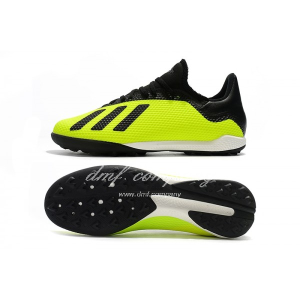Adidas X Tango 18.3 TF Men's Fluorescent Green And Black