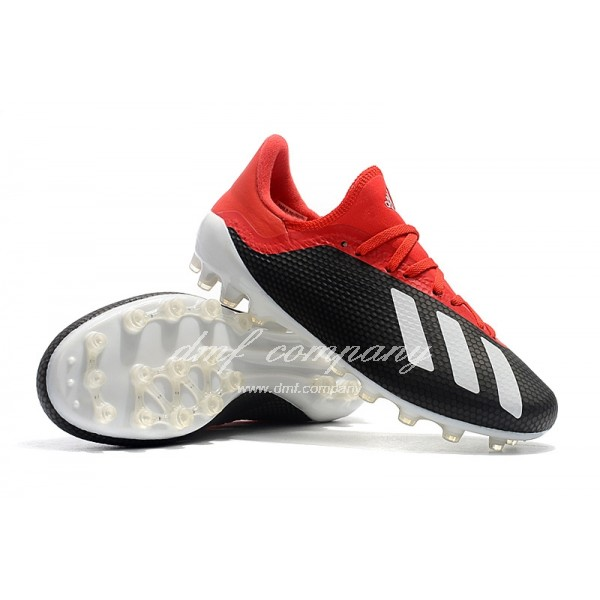 Adidas Men's X 18.1 AG Black And Red