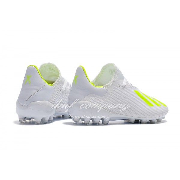 Adidas Men's X 18.1 AG White And Green