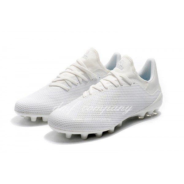 Adidas Men's X 18.1 AG All White