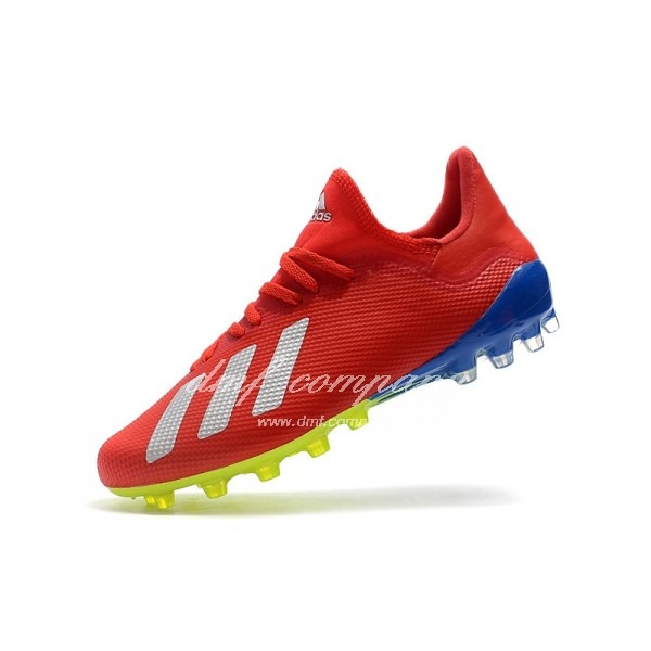 Adidas Men's X 18.1 AG Red