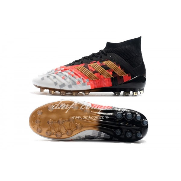adidas Predator 18.1 AG Men Black/White/Orange