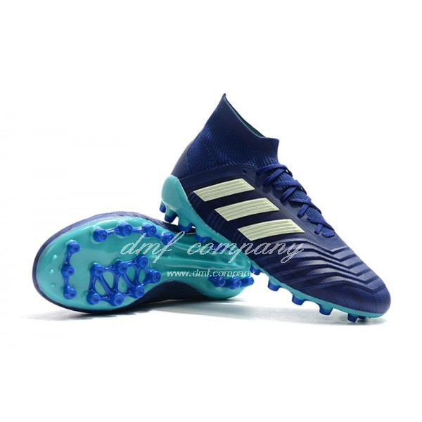 Adidas Men's Predator 18.1 AG Blue