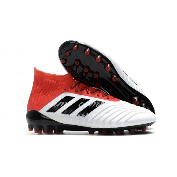 adidas Predator 18.1 AG Men White/Red