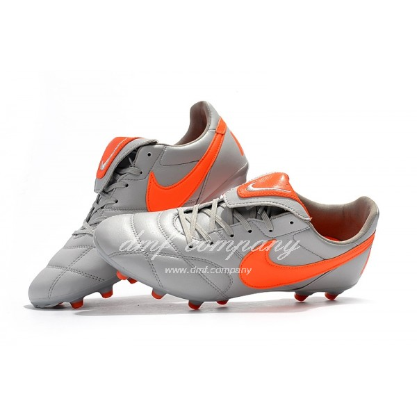 Nike Premier 2.0 Men White/Orange FG