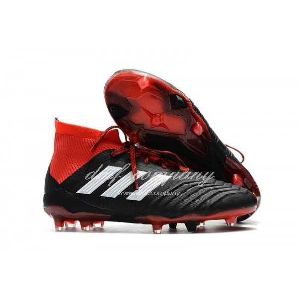 adidas Predator 18.1 FG Men Black/Red