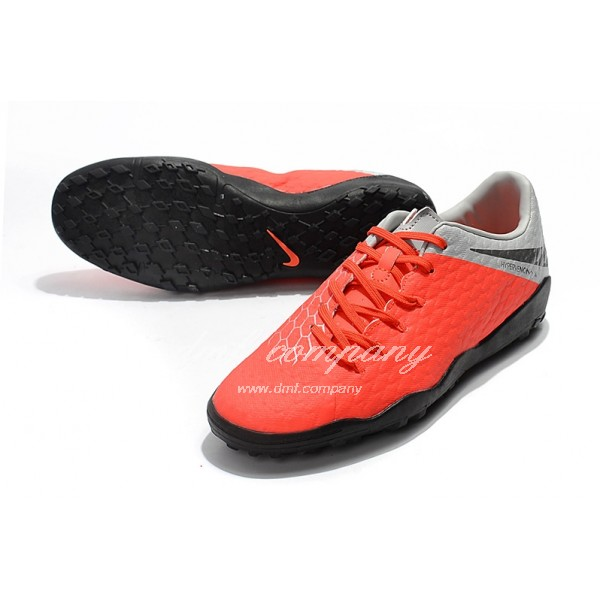 Nike Hypervenom Phantom Premium Men Orange/Grey TF