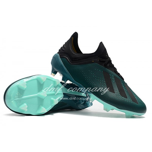Adidas X 18.1 FG Men's Lake Green And Black